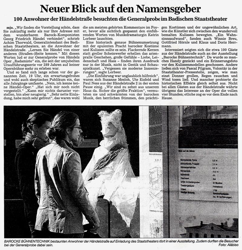 2009 02 20 badische neueste nachrichten Presse
