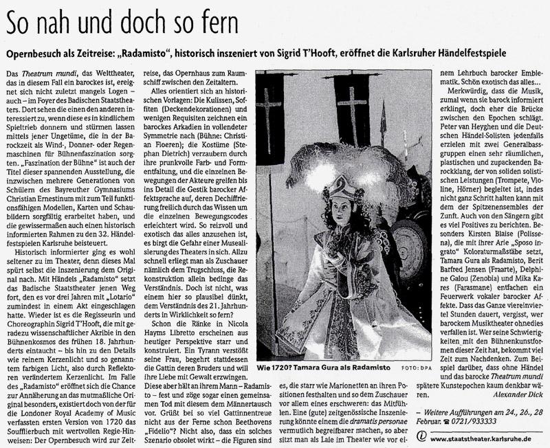 2009 02 23 badische zeitung Presse