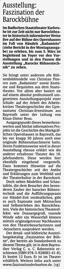 2009 02 26 rheinpfalz Presse