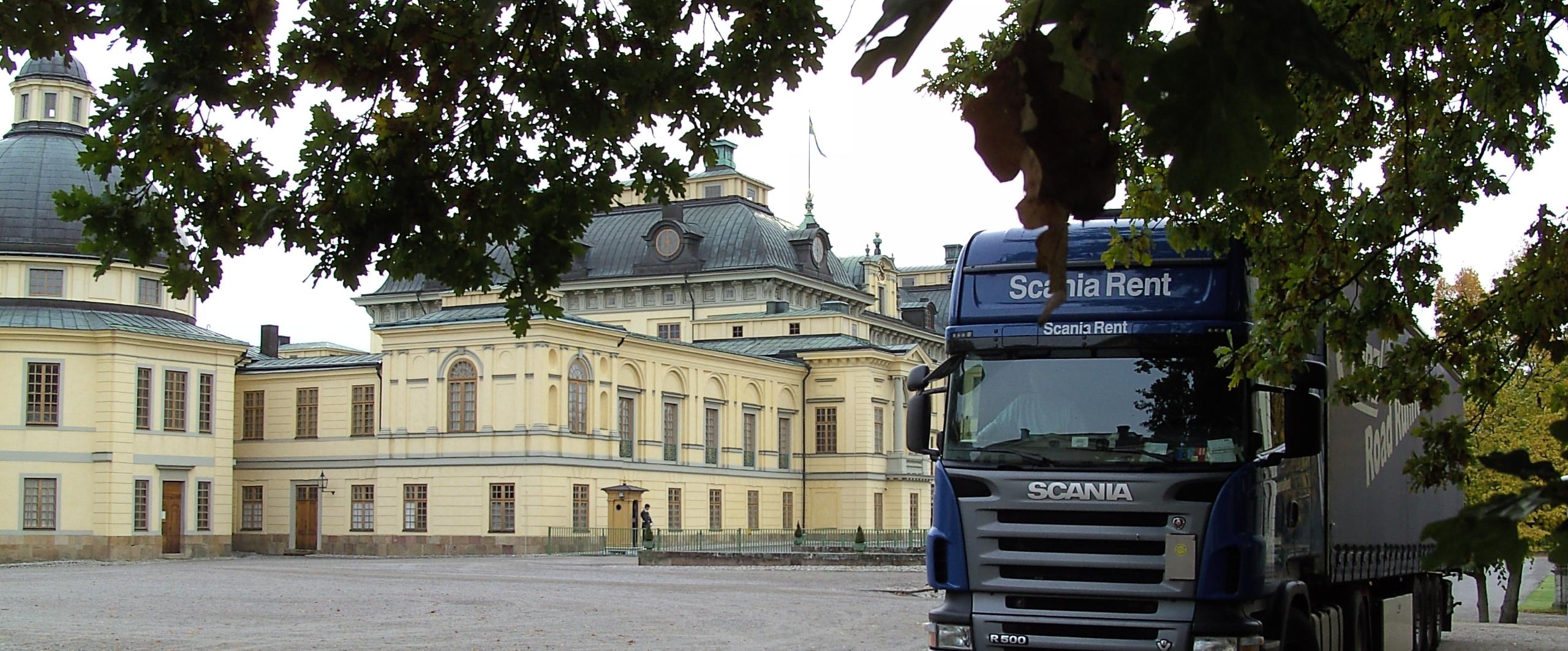 Schloss Drotningholm beschnitten Stockholm