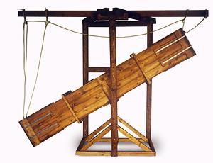 donnermaschine Barocke Bühnentechnik